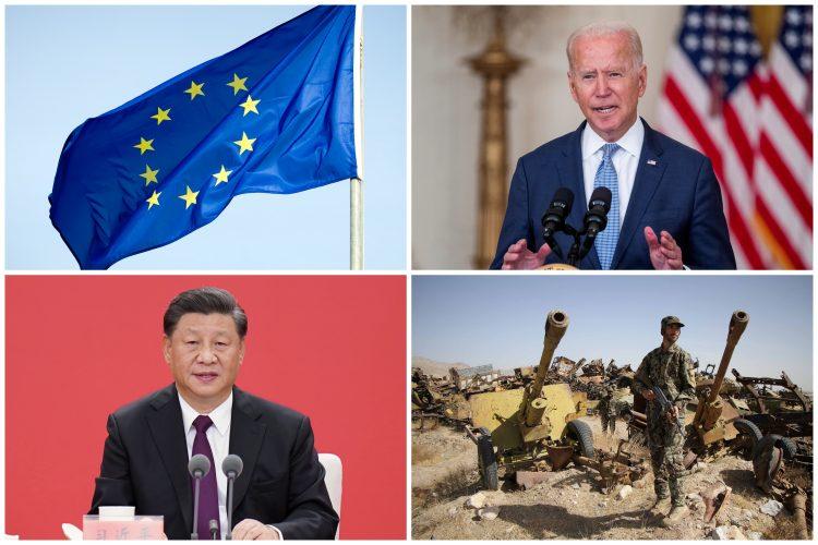 Eu zastava, Bajden, Đinping, Avganistan