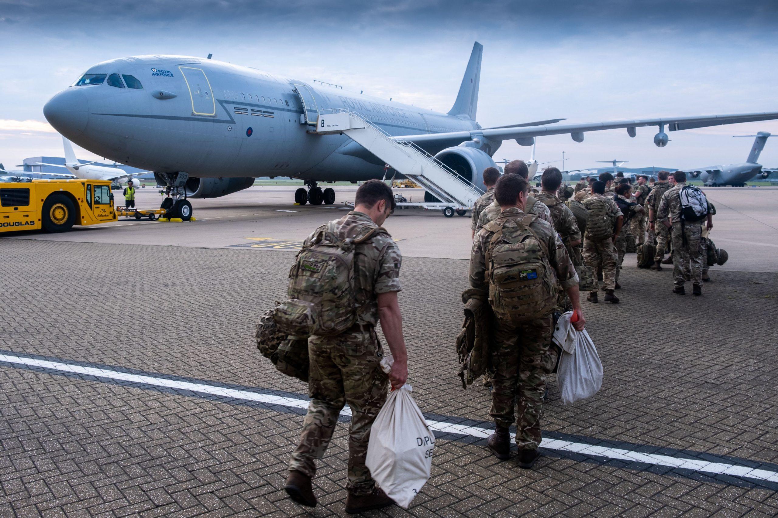 Britanski vojnici napuštaju Kabul