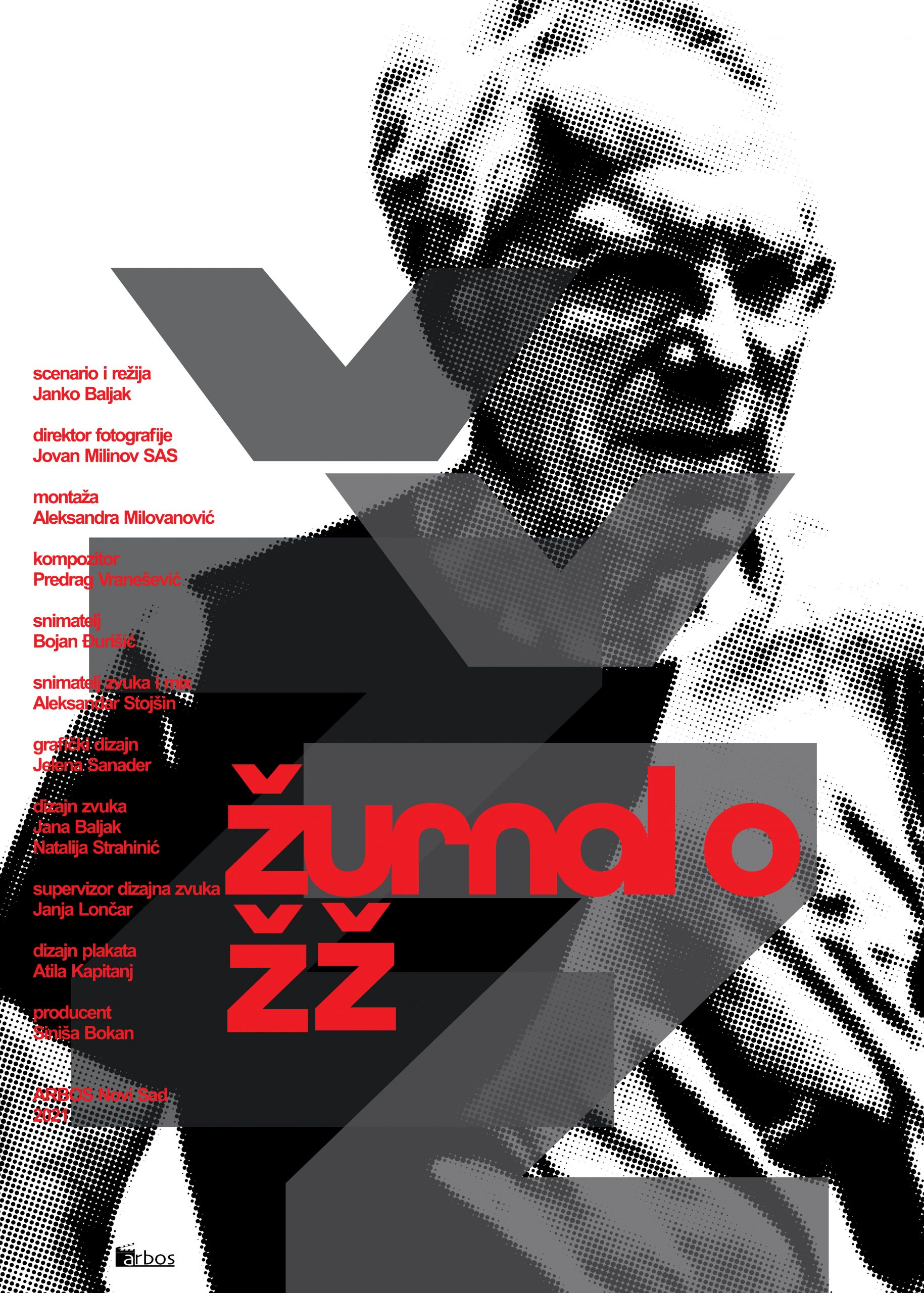 Žurnal o ŽŽ, Želimir Žilnik, reditelj, plakat, film
