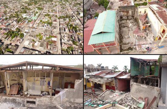 Haiti dron zemljotres