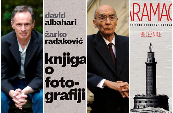 David Albahari, Knjiga o fotografiji, Žoze Saramago, Beležnice, knjige, korice, knjiga, korica