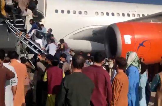 Avganistan, Kabul, avion, aerodrom