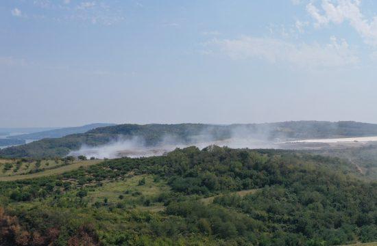 Vinča, 16.08.2021. deponija, požar, vatra, gori deponija