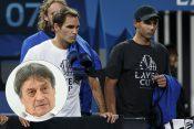 Rodžer Federer i Rafael Nadal Moma Jakovljević