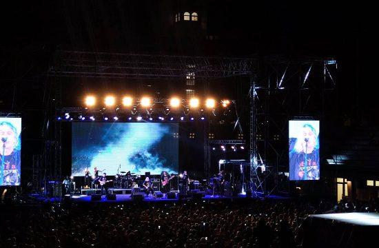 Koncert grupe Riblja corba u cast preminulog Mise Aleksica