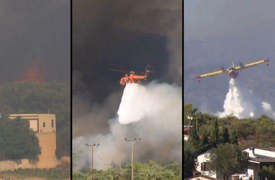 pozar grcka vatra gasenje