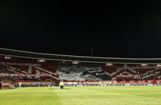 FK Crvena zvezda, FK Kluž koreografija