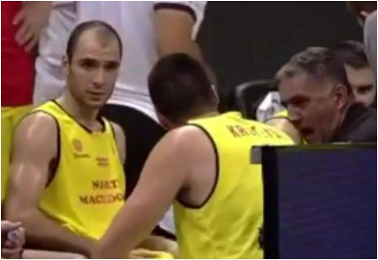 Dragan Bajić, Košarkaška reprezentacija Severne Makedonije