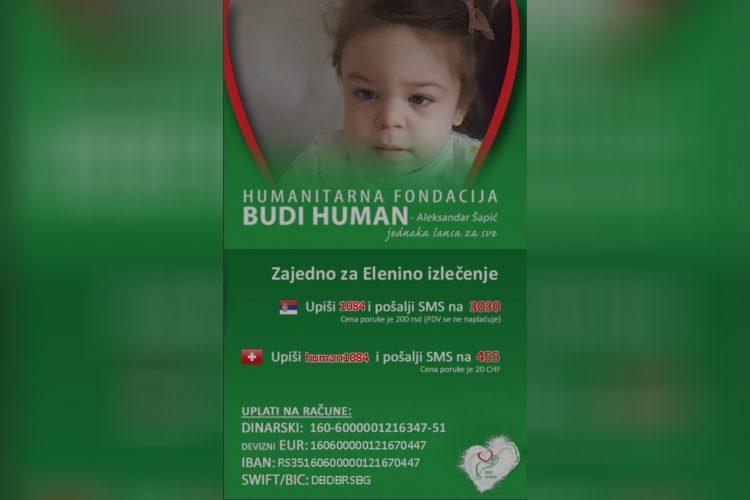 Elena Krstivojević Humanitarna fondacija Budi human