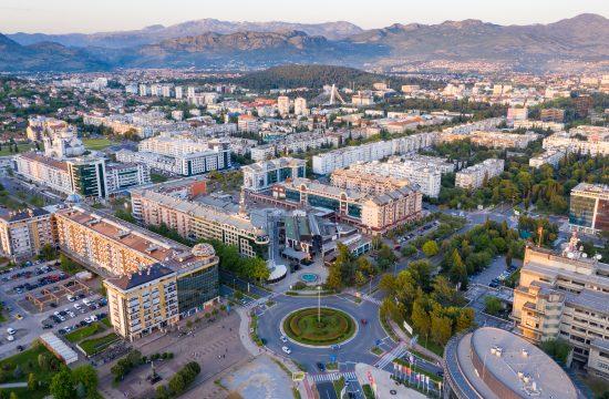 Podgorica, panorama, Crna Gora