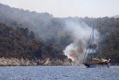 Hvar, požar, Hrvatska