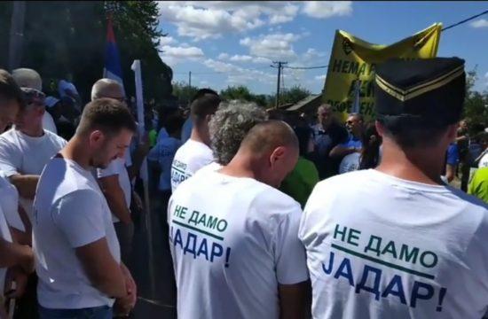Loznica, Cer, Udruženje Ne damo Jadar, Rio Tinto, protest