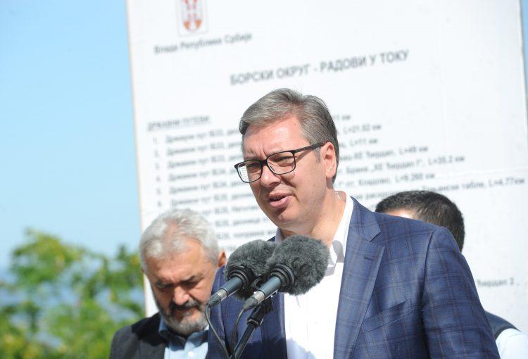 Aleksandar Vucic Donji Milanovac