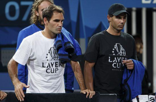 Rodzer Federer i Rafael Nadal
