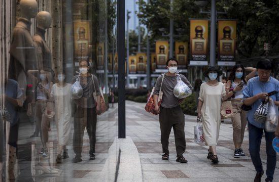 Sangaj Kina koronavirus