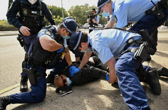 Australija, Sidnej, protest,