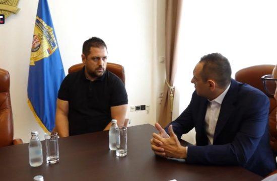 Aleksandar Vulin, video nadzor na stadionima