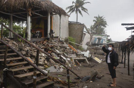 Meksiko, uragan Grejs