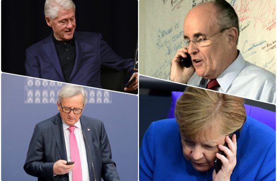 Angela Merkel Jean-Claude Juncker Žan Klod Junker Bil Klinton Bill Clinton Rudy Giuliani Rudi Djulijani