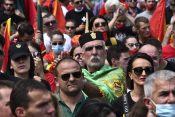 Crna Gora protest
