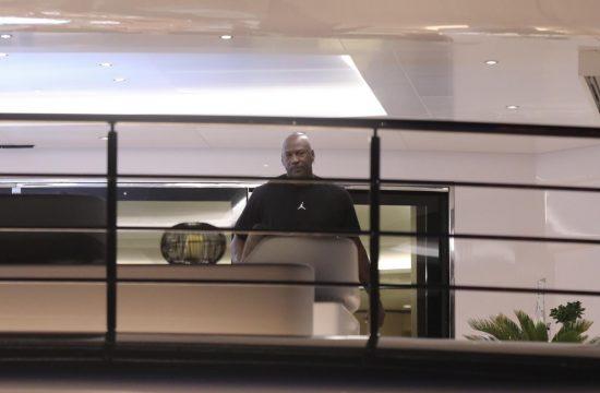 Majkl Džordan Michael Jordan, Split, Hrvatska, jahta, odmor