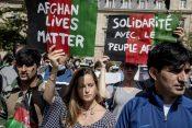 Francuska, Pariz, protest, Avganistan