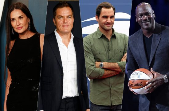 Demi Mur, Majkl Senon, Majkl Dyordan i Rodzer Federer