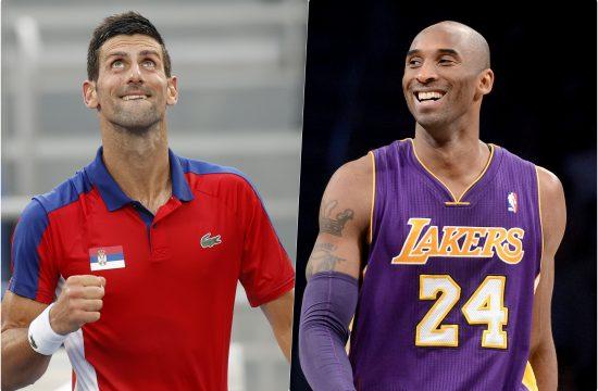 Novak Djokovic Kobe Bryant