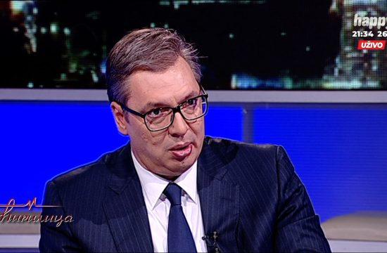 Aleksandar Vucic gost u emisiji Cirilica na televiziji Happy