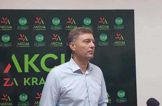 Akcija za Kragujevac, Zeleni