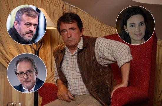 Milan Lane Gutović, Sergej Trifunović, Milica Milša, Voja Žanetić