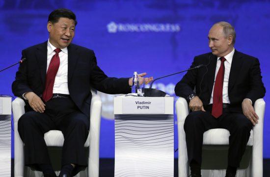 Si Đinping i Vladimir Putin