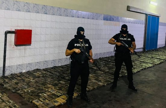 Crna Gora Zaplena droge