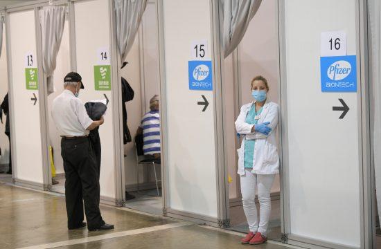 Vakcinacija na beogradskom Sajmu