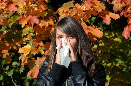 Kijavica alergija prehlada curenje nosa