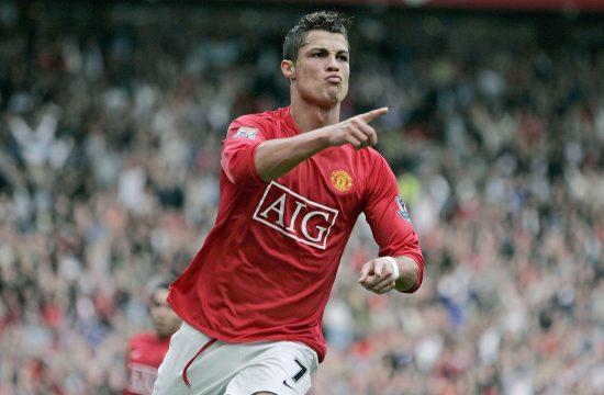 Kristijano Ronaldo u Junajtedu