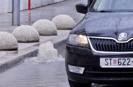 Hrvatska, Split, nevreme, kiša