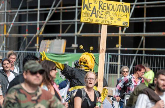 Nemacka protest Berlin