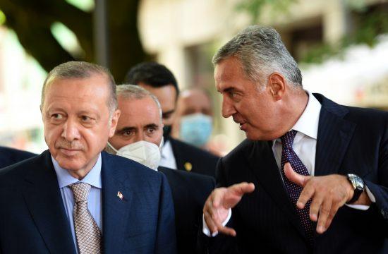 Redzep Tajip Erdogan i Milo Djukanovic