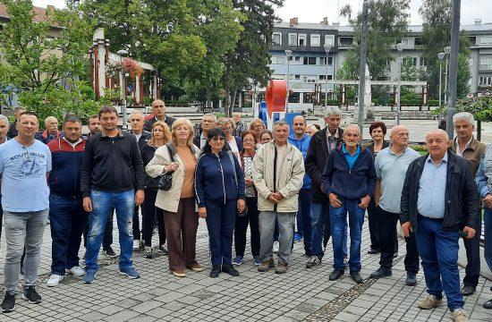 Mestani Kalenica protest Pozega