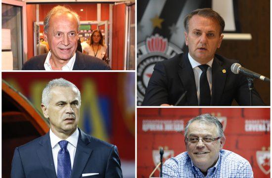 Milorad Vučelić, Ostoja Mijailović, Zvezdan Terzić, Nebojša Čović