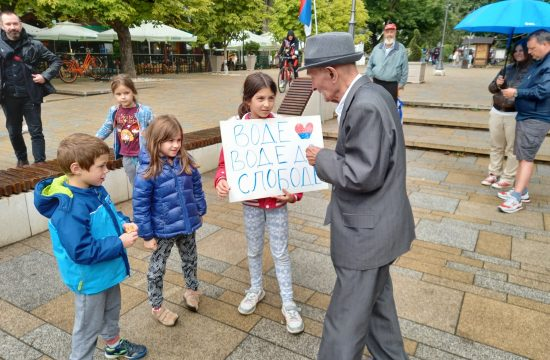 Vrnjacka Banja protest