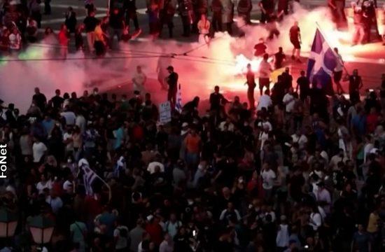 Atina protesti