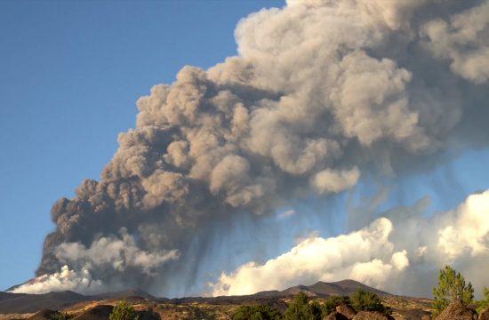AP Etna Erupcija