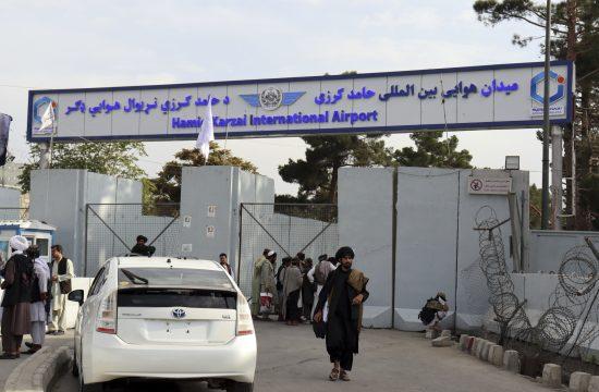 Talibani aerodrom Kabul Hamid Karzai