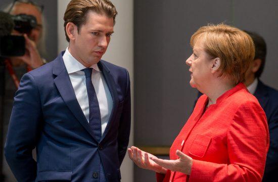 Sebastijan Kurc i Angela Merkel