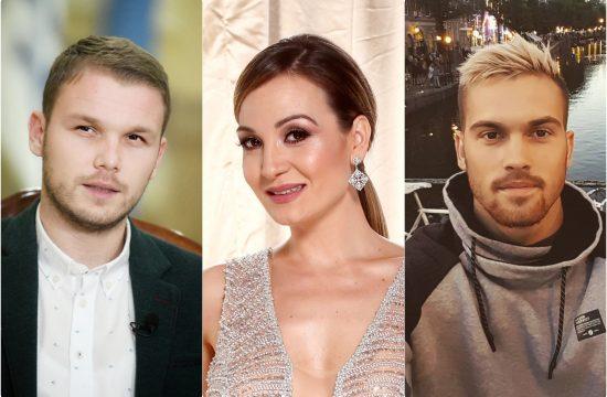 Drasko Stanivukovic, Milos Stanisic i Jelena Tomasevic