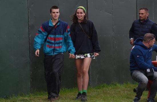 Cruz Beckham Kruz Bekam sa devojkom
