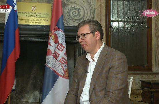 Aleksandar Vučić, Bled, Slovenija