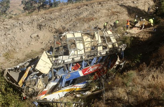 Peru, autobus, nesreća